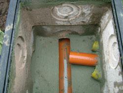 Station d puration ets rougraff - Rehausse chambre de visite beton ...