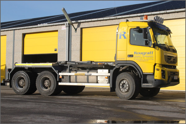 Camion Volvo Fmx Ets Rougraff